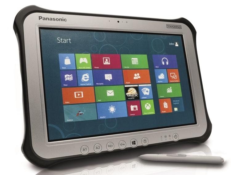 Panasonic представила Toughbook FZ-G1: обновленный ударопрочный планшет на все случаи жизни