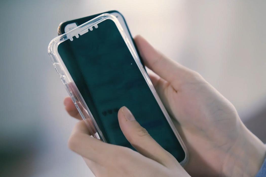 На IndieGoGo представили чехол PhoneGlass, скрывающий экран от посторонних глаз