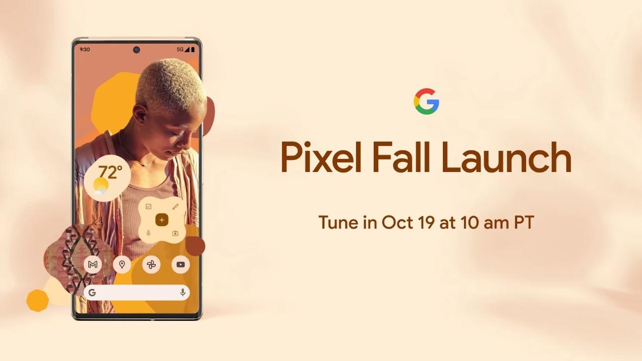 Официально: смартфоны Google Pixel 6 и Pixel 6 Pro с фирменным чипом Tensor представят 19 октября