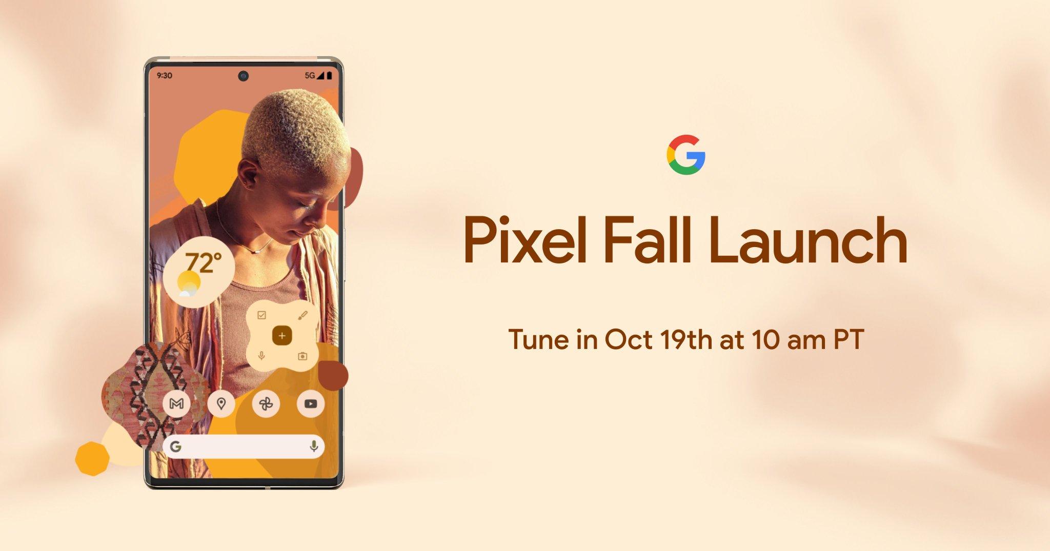 Слух: Google на презентации Pixel 6 покажет ещё складной смартфон Pixel Fold и умные часы Pixel Watch