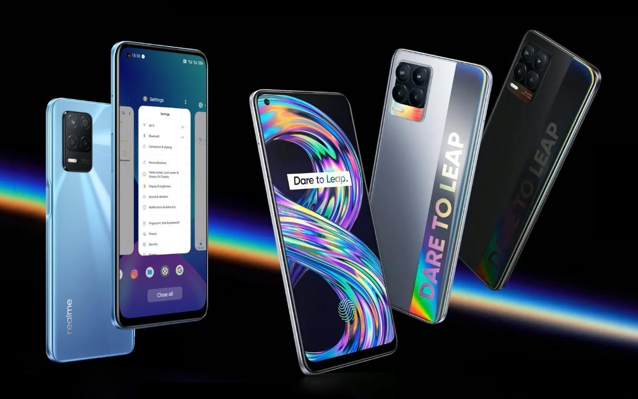 Realme 8 и Realme 8 5G с чипами MediaTek и ценниками от 200 евро приехали в Европу