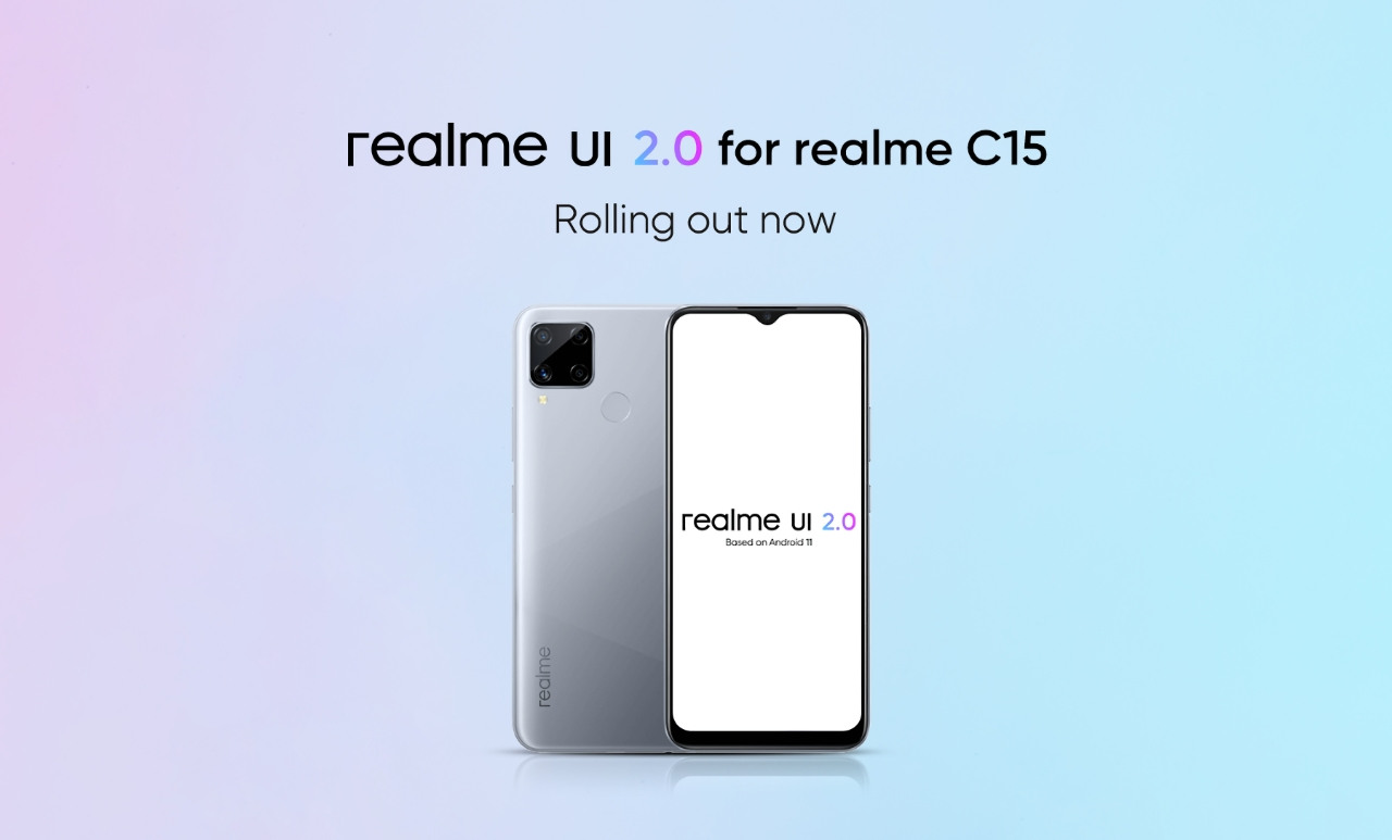 Бюджетники Realme C12 и Realme C15 начали обновляться до Android 11 с Realme UI 2.0