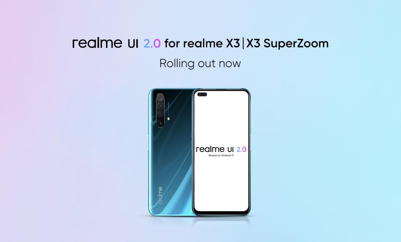 Дождались! Realme X3 и Realme X3 SuperZoom начали получать стабильную версию Android 11 (Realme UI 2.0)