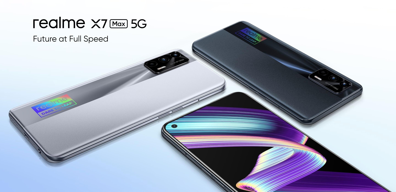 Realme GT Neo вышел за пределами Китая с названием Realme X7 Max 5G, чипом Dimensity 1200 и AMOLED-экраном на 120 Гц