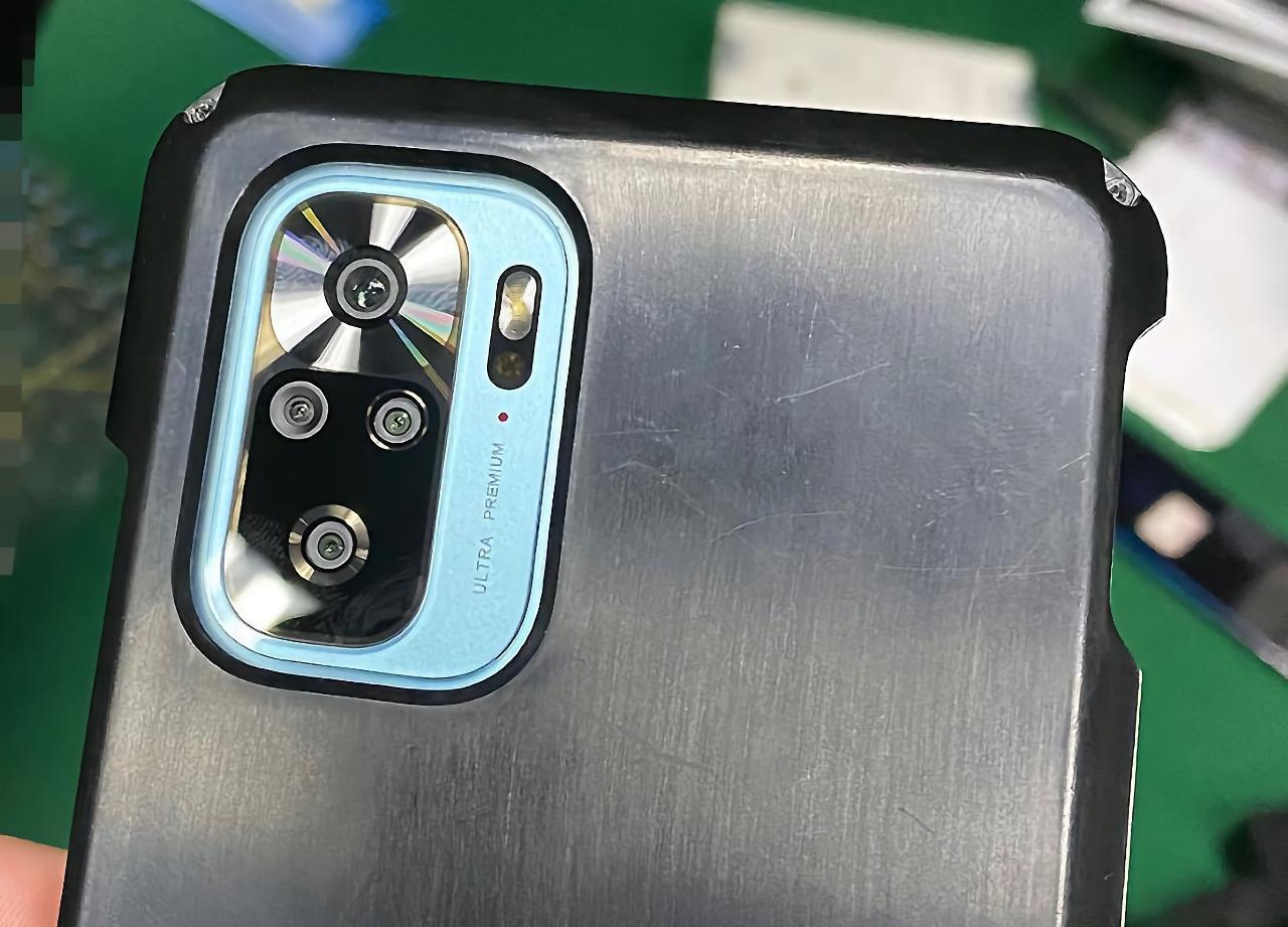 Redmi K40 появился на живых фотографиях с отверстием в экране и квадро-камерой