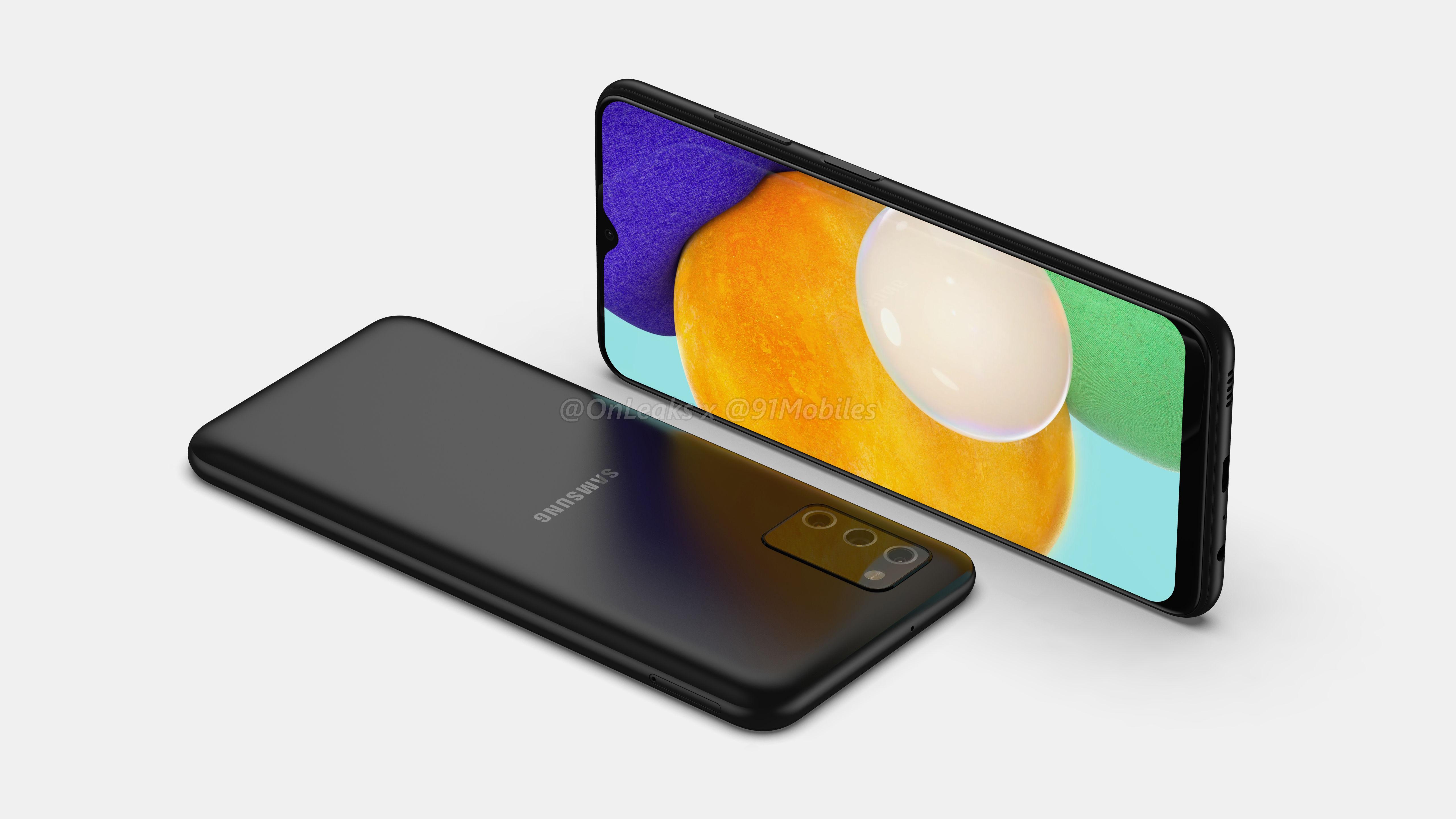 Samsung работает над бюджетником Galaxy A03s: в сеть утекли его рендеры и некоторые характеристики