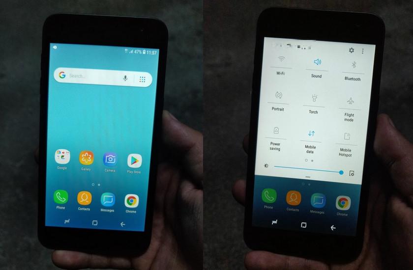 Первые фото смартфона Samsung на Android Go с… фирменной оболочкой