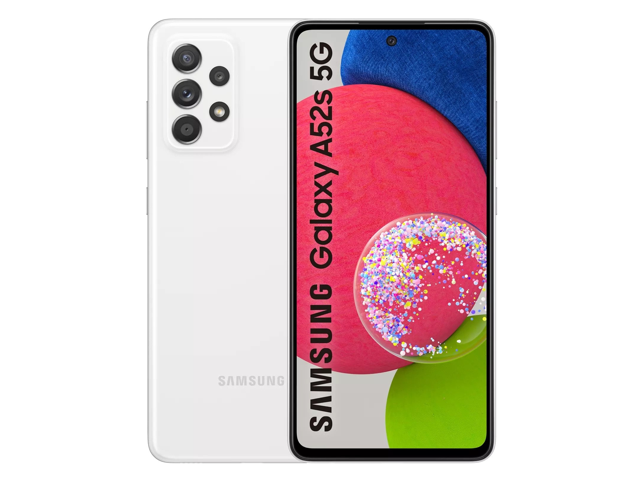 В сеть слили подробные характеристики, ценник и качественные изображения смартфона Samsung Galaxy A52s