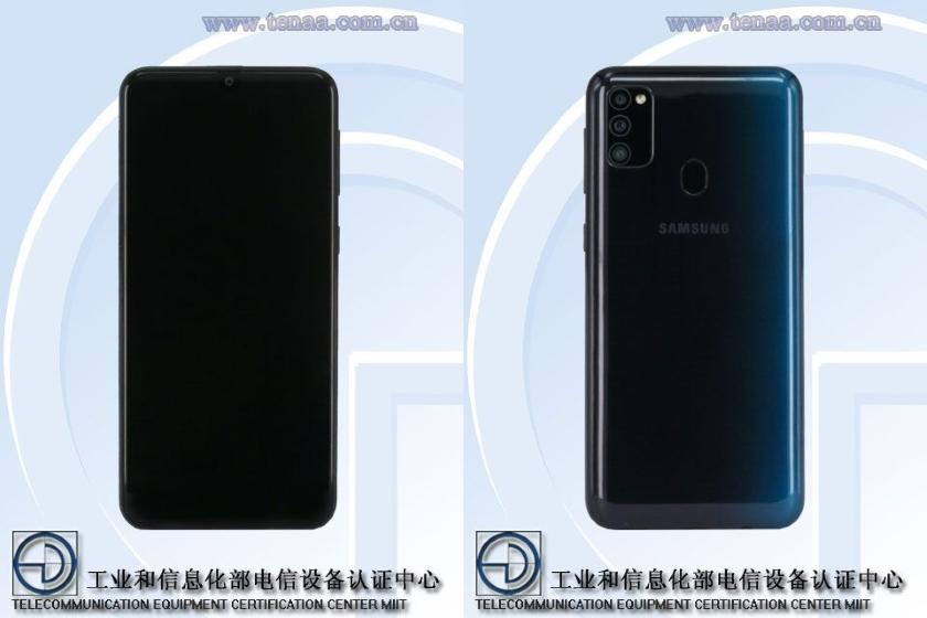 Samsung Galaxy M30s попал в TENAA: подробные характеристики и внешний вид смартфона