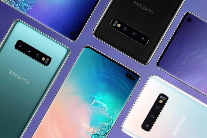 Мобильные телефоны  Самсунг  Galaxy S10 случайно показали потелевидению доанонса
