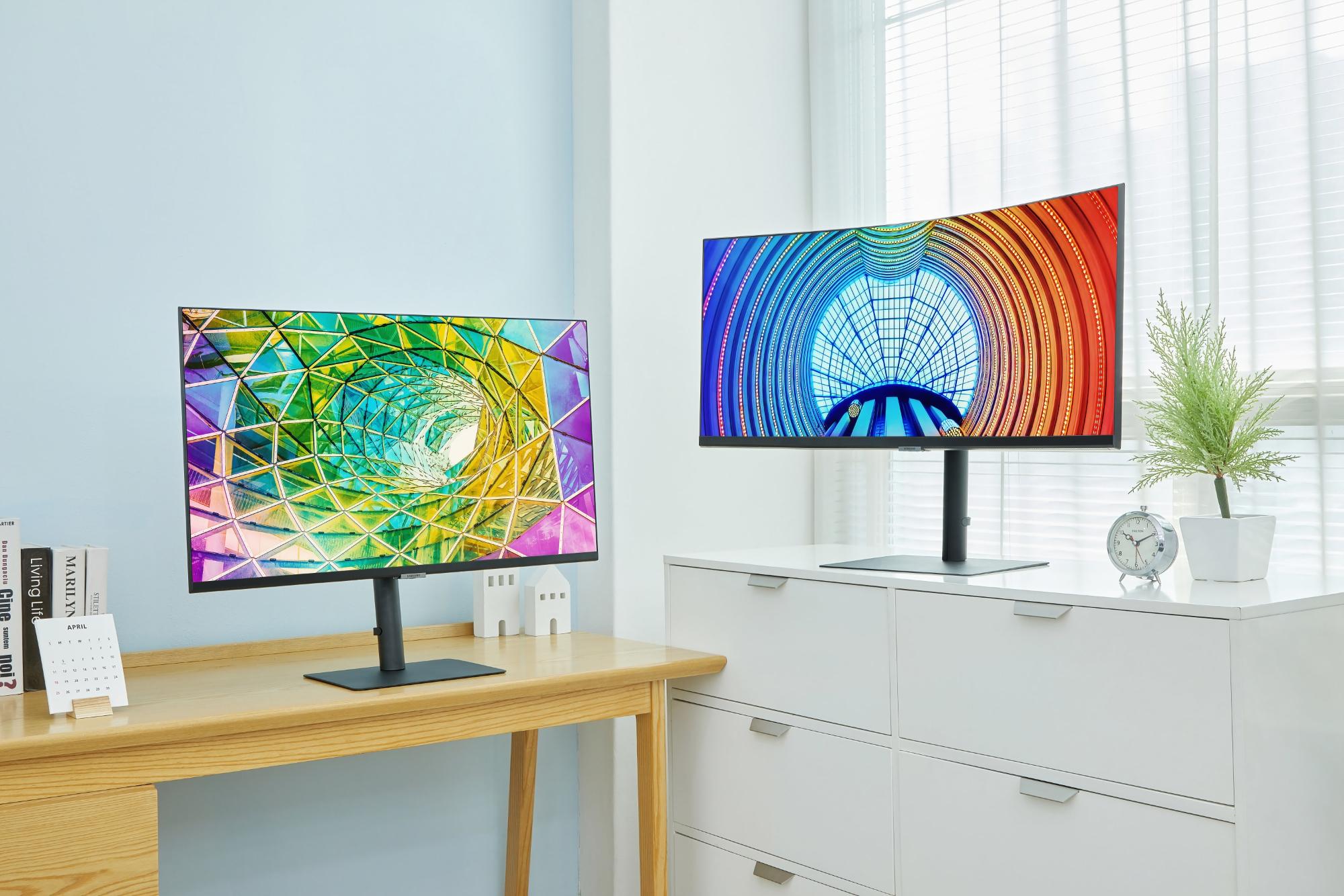 В Украине стартуют продажи новых мониторов Samsung High Resolution Monitors с диагоналями от 24 до 34 дюймов