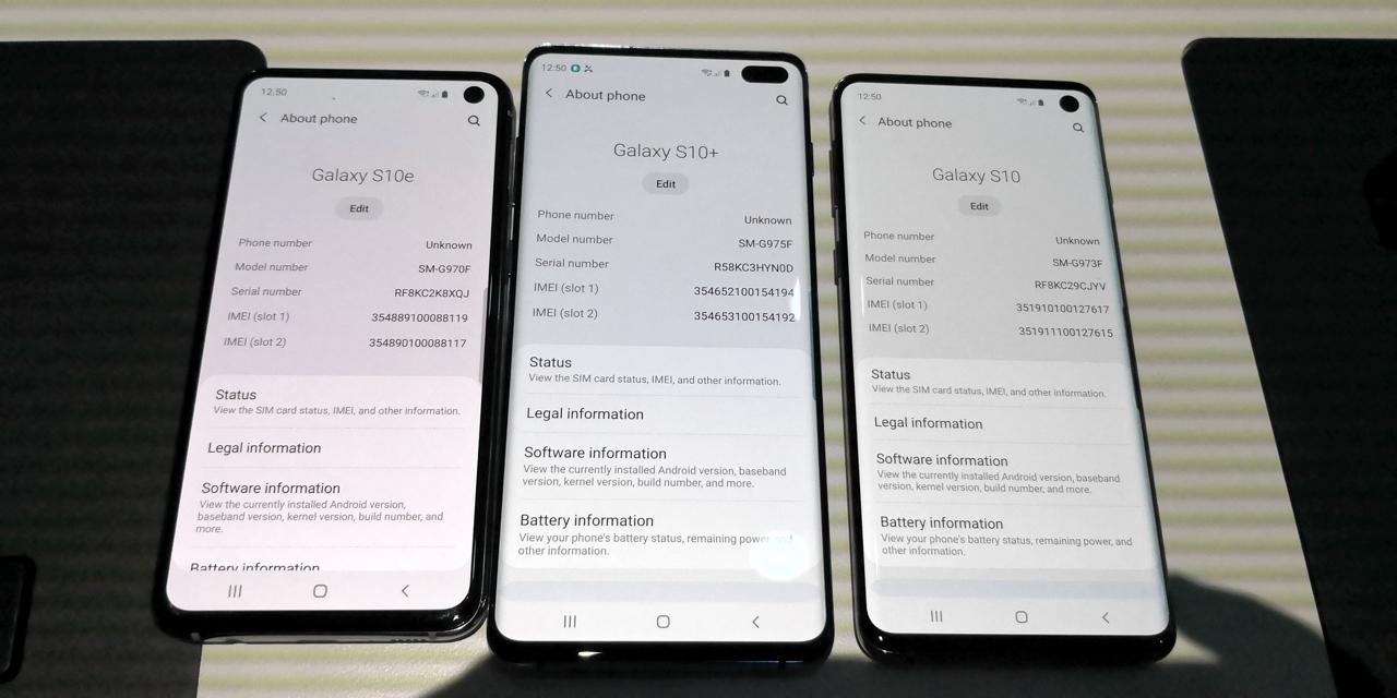 Samsung Galaxy S10+ своими глазами: цены и технологии уходят в космос