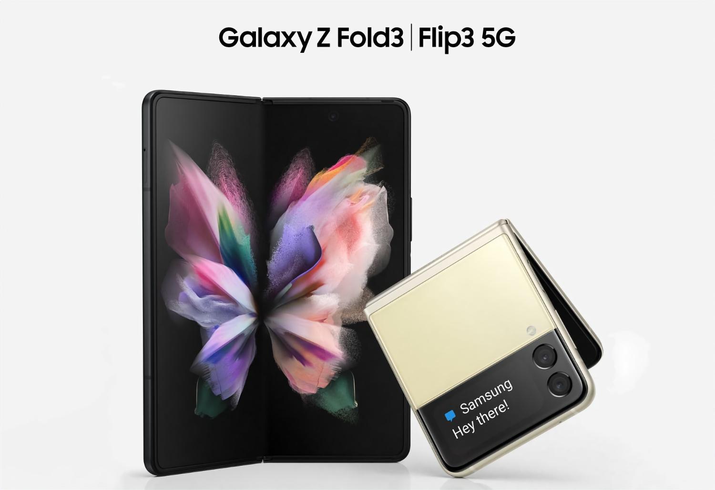 Samsung Galaxy Z Fold 3 и Galaxy Z Flip 3 появились на качественных официальных рендерах
