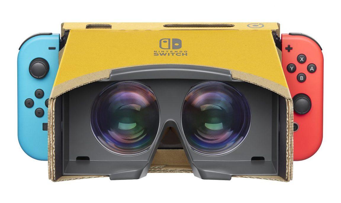 Nintendo представила очки виртуальной реальности. Знакомьтесь, Nintendo Labo Toy-Con 04: VR Kit
