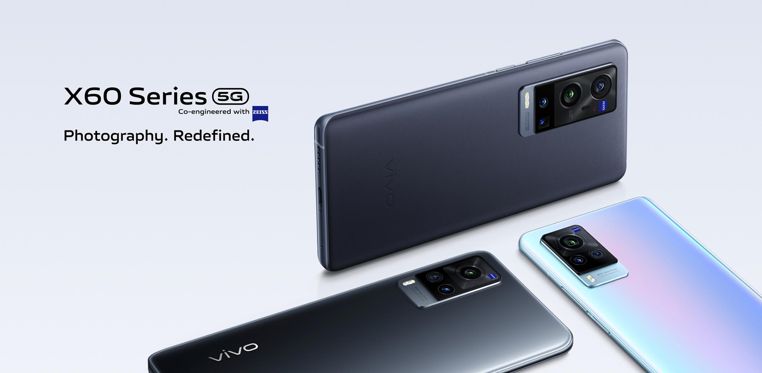 Vivo X60, Vivo X60 Pro и Vivo X60 Pro представили на глобальном рынке: флагманская линейка смартфонов с чипами Qualcomm и оптикой Zeiss