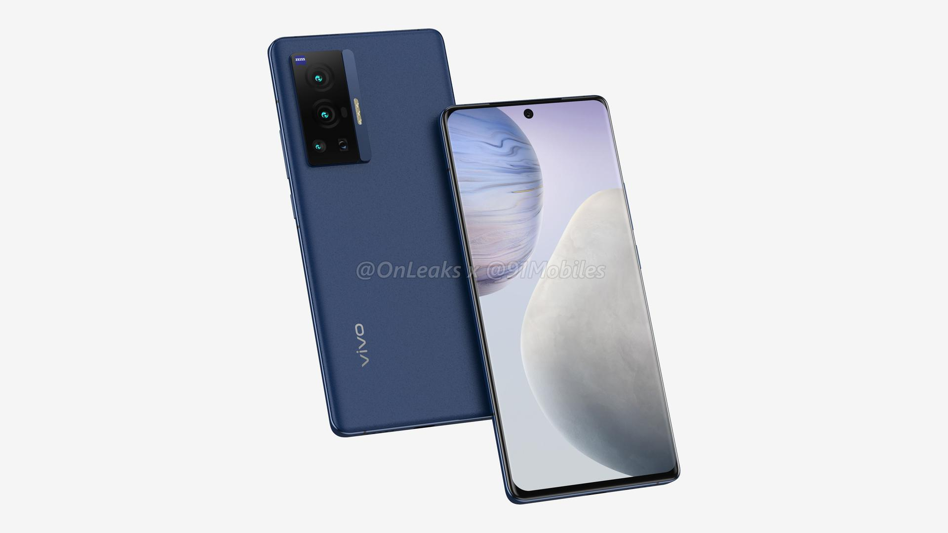 В сеть утекли официальные изображения и цены Vivo X70 Pro