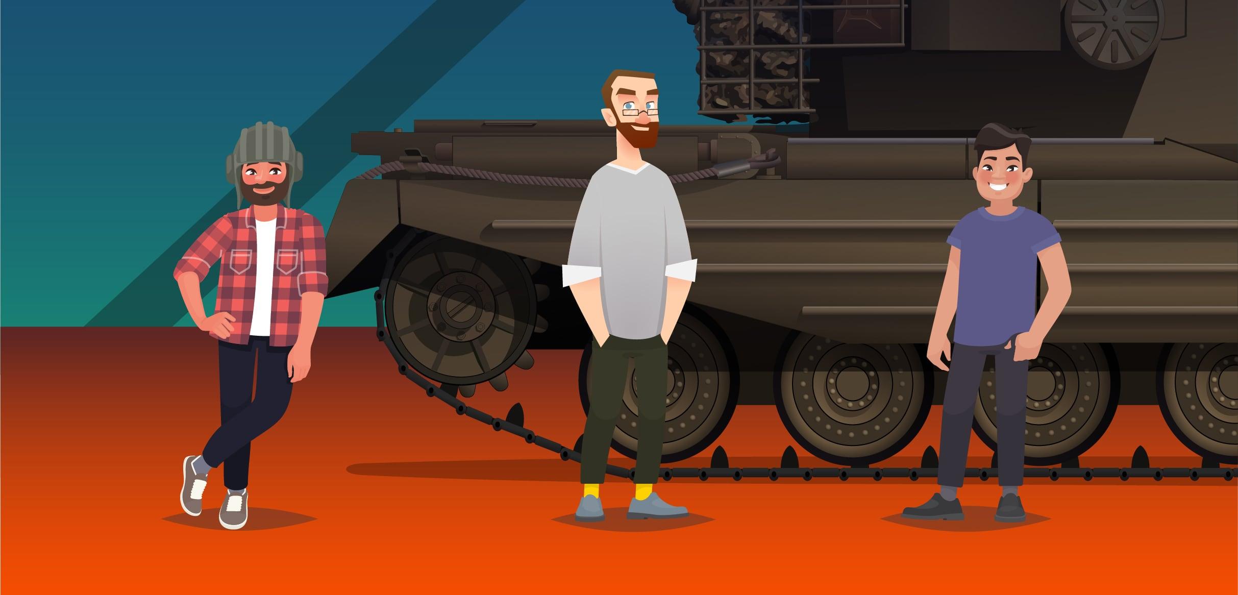 У 45% украинских игроков World of Tanks есть кошка, 91% предпочитают кофе, а один играет на ПК с 256 ГБ ОЗУ: залипательная инфографика Wargaming