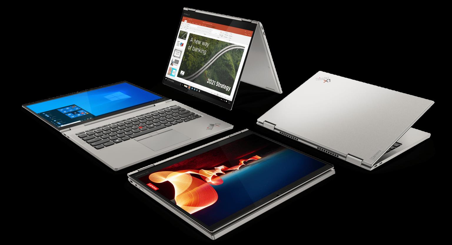 Lenovo ThinkPad X1 Titanium Yoga: самый тонкий ноутбук-трансформер серии с титановым корпусом и процессорами Intel Core 11-го поколения