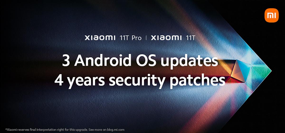 Android 14 и четыре года обновлений  Xiaomi 11T и 11T Pro получат длительную поддержку