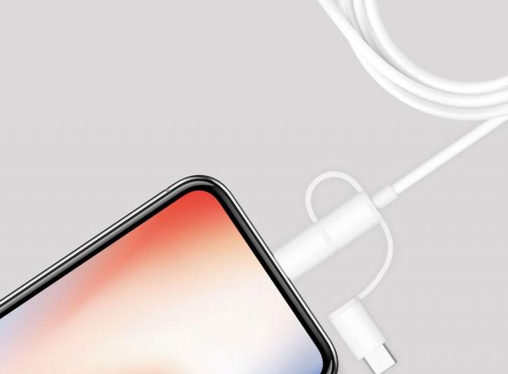 Xiaomi представила универсальный кабель 3-в-1