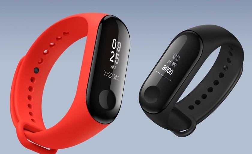 Фитнес-браслет Xiaomi Mi Band 3 получил поддержку ночного режима