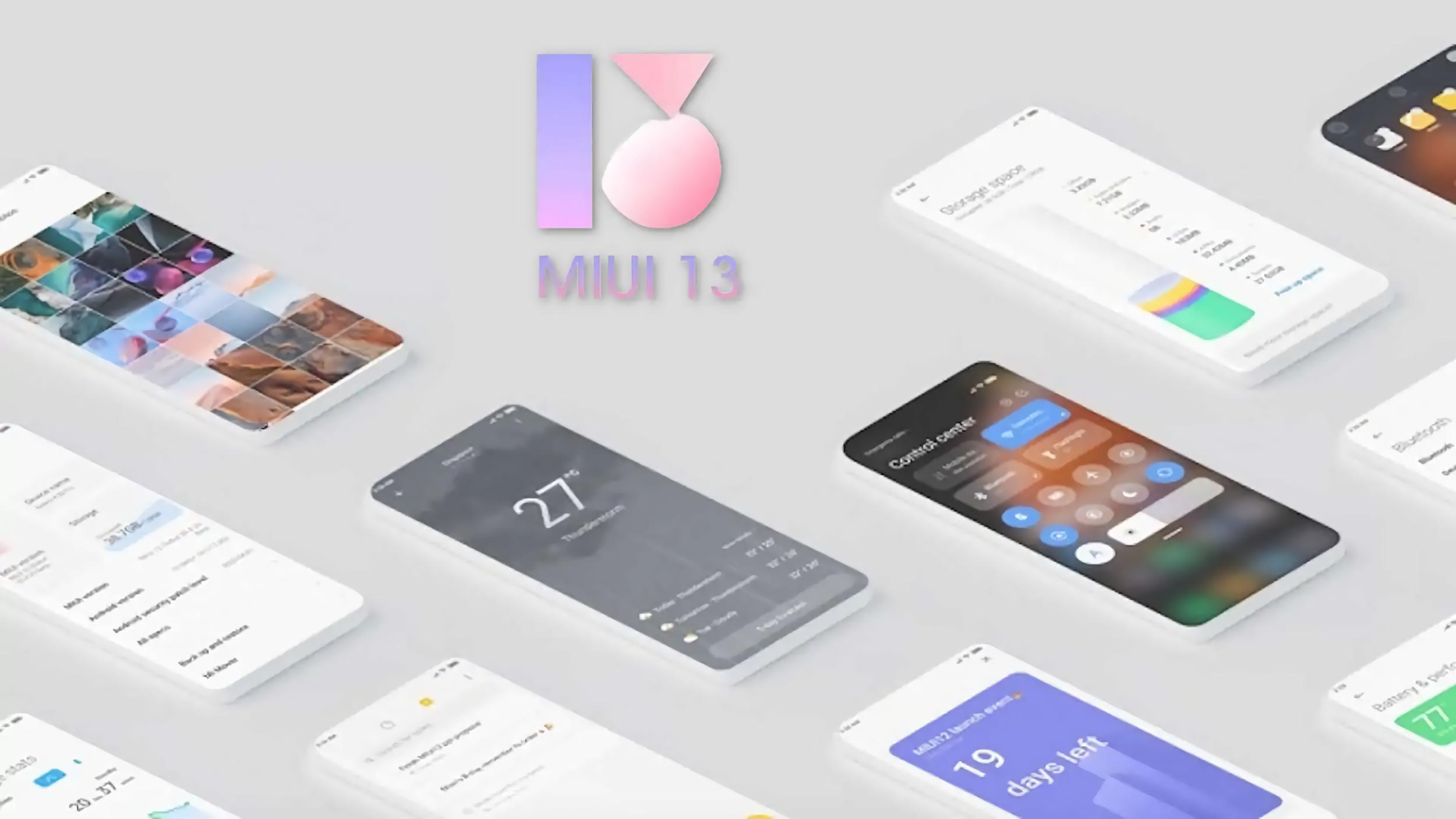 Какие смартфоны Xiaomi, Redmi, POCO и Black Shark получат MIUI 13