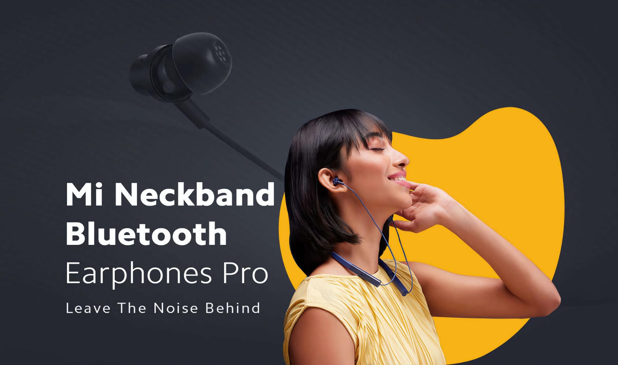 Xiaomi Mi Neckband Bluetooth Earphones Pro: нашейные наушники с ANC дешевле $30