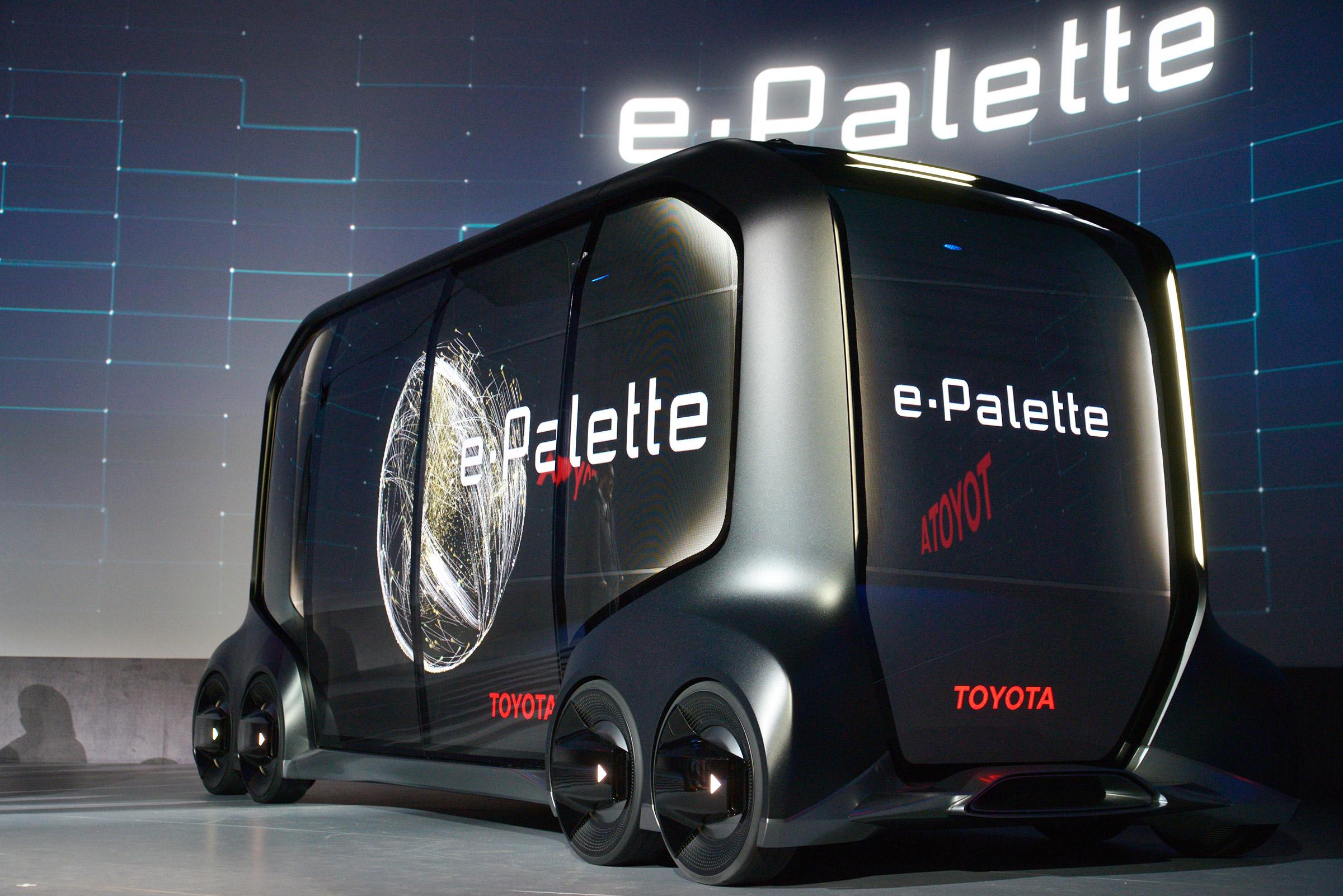 Toyota покажет новые электромобили на олимпиаде в Токио