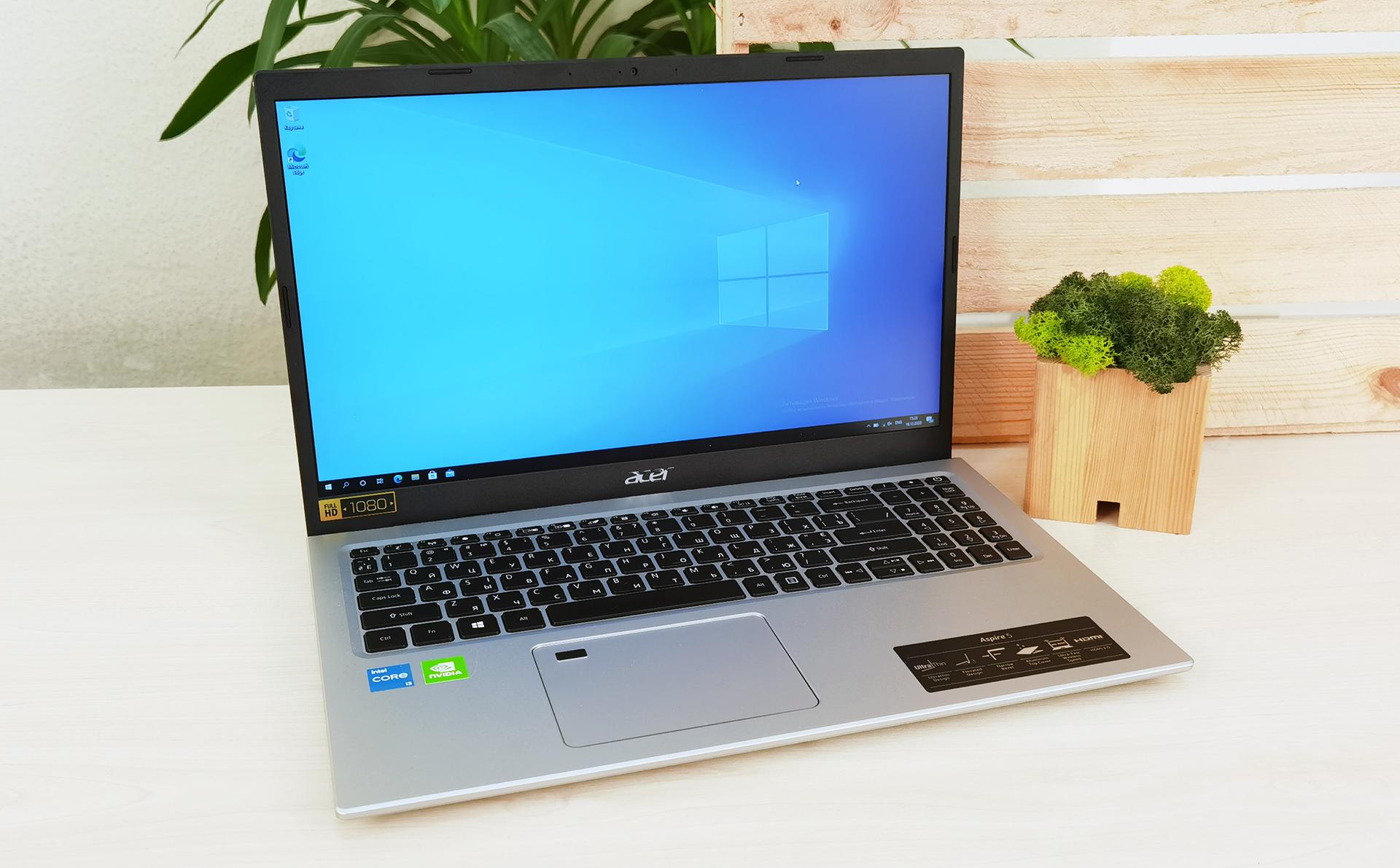 Обзор Acer Aspire 5: самый доступный ноутбук с Intel Tiger Lake, IPS-дисплеем и дискретной графикой