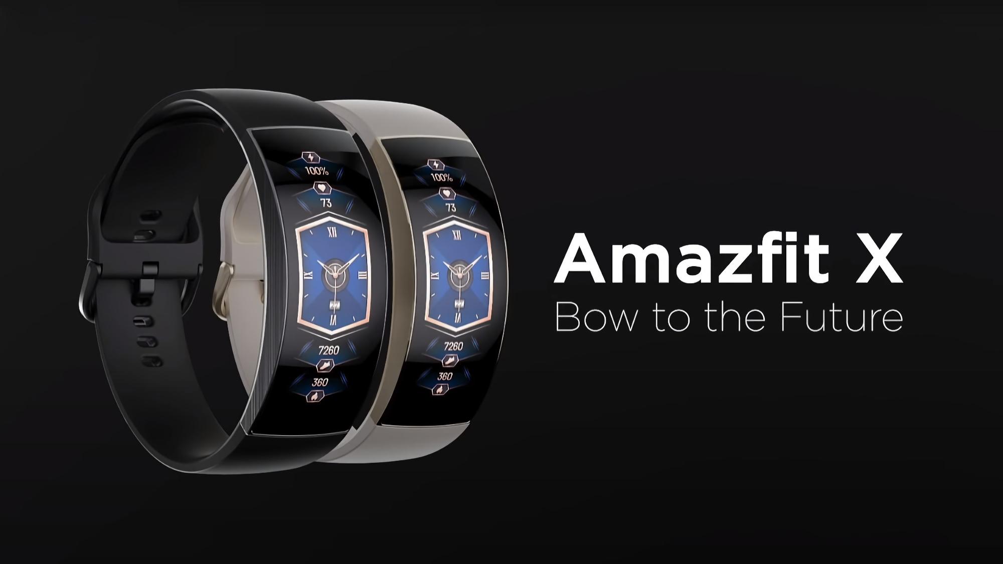 Смарт-часы Amazfit X с изогнутым AMOLED-дисплеем продают сейчас на AliExpress со скидкой
