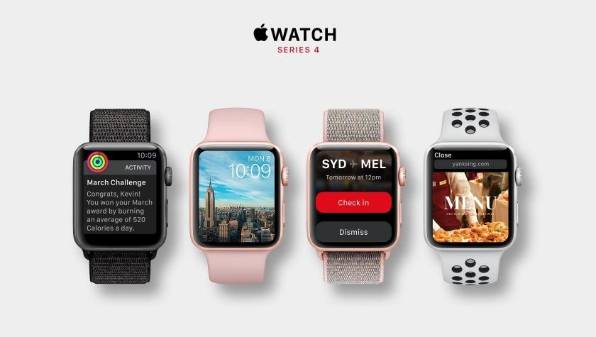 Новое поколение «умных» часов Apple Watch 4 сертифицировали в ECC