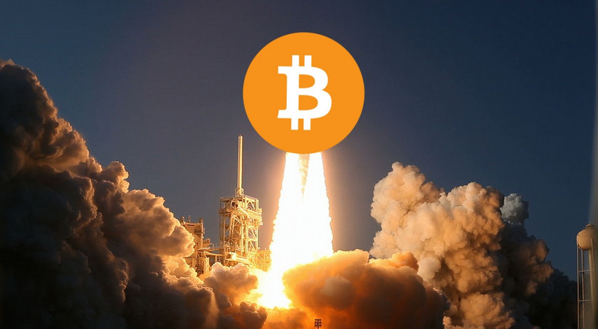 Bitcoin goes on takeoff: a mark of $ 15,000 is passed