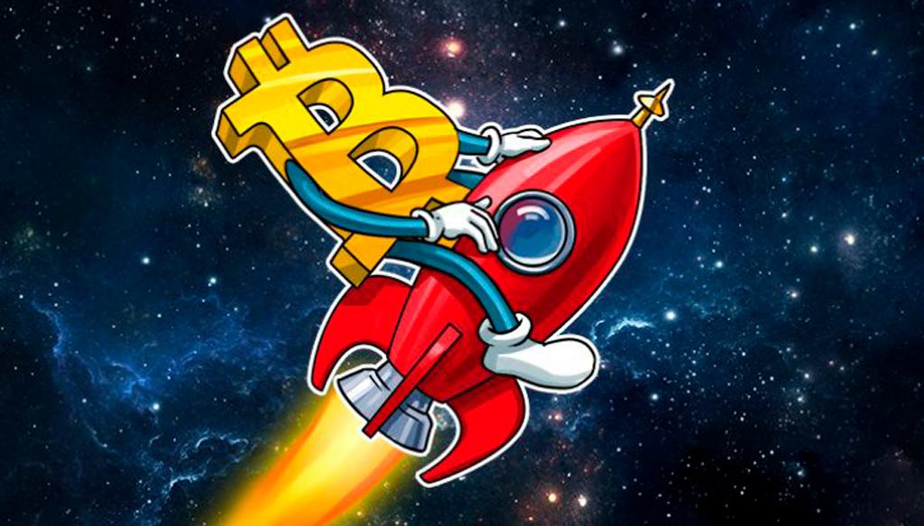 Биткоин курс 'to the moon' 10 000$ трейдеры ожидают в ближайшие 48 часов