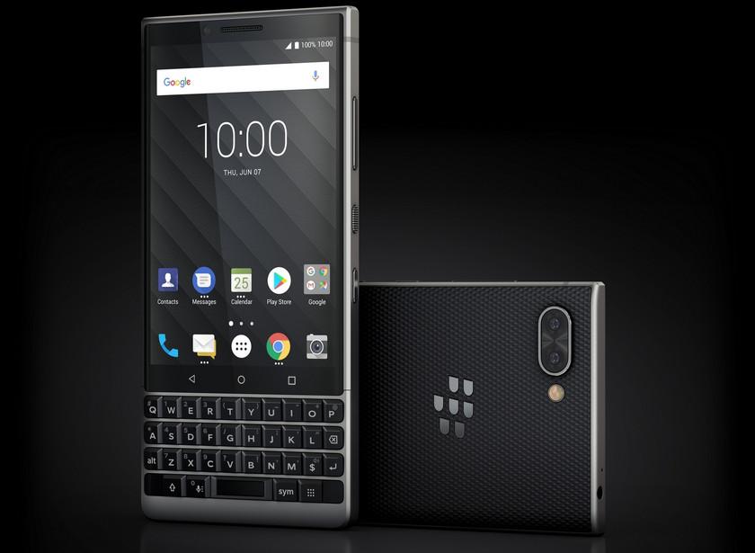 Анонс BlackBerry KEY2 с QWERTY-клавиатурой: перерождение классики