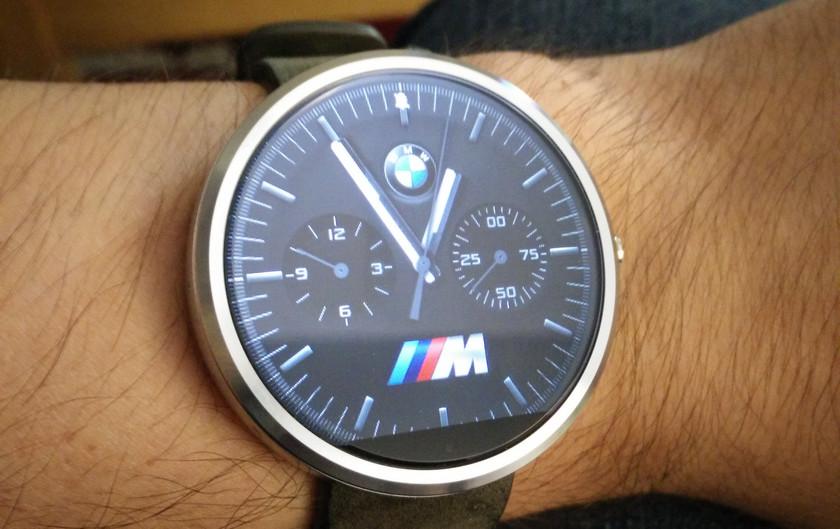 Плюс один: Fossil займётся созданием смарт-часов BMW