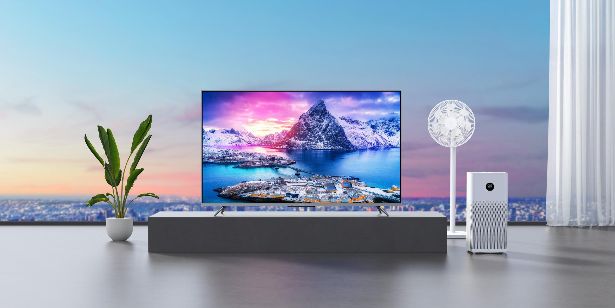 Xiaomi представила телевизор 4K QLED 55 за 799