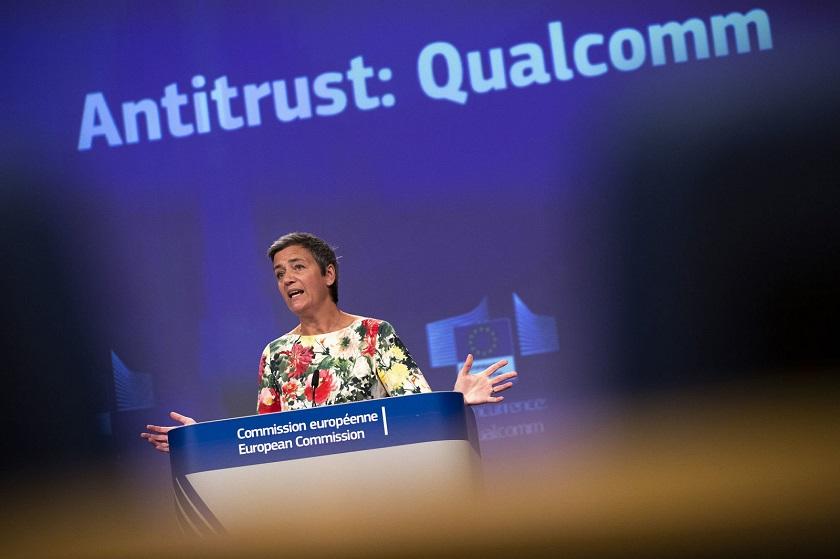 Европейская комиссия оштрафовала американского производителя микрочипов Qualcomm на240 млн евро