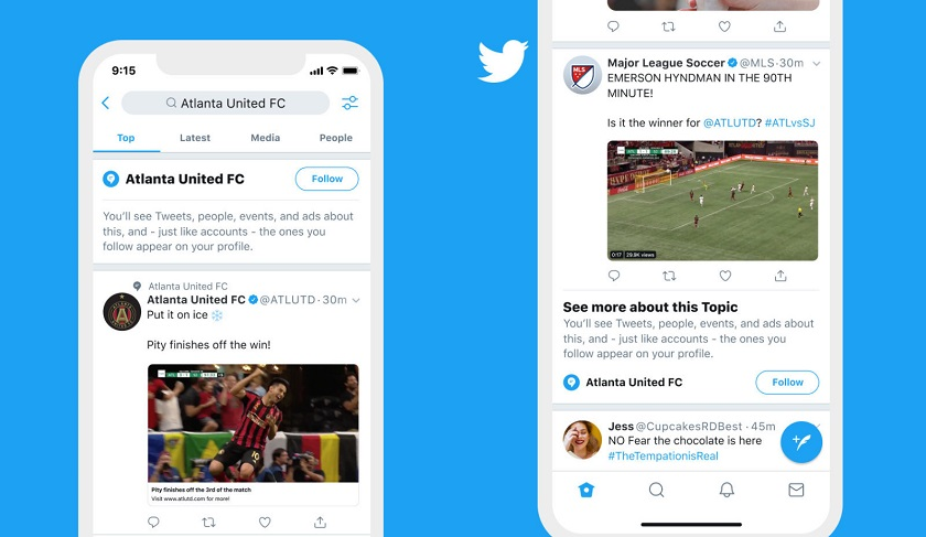 Больше никаких хештегов: в Twitter появится альтернативный поиск по темам