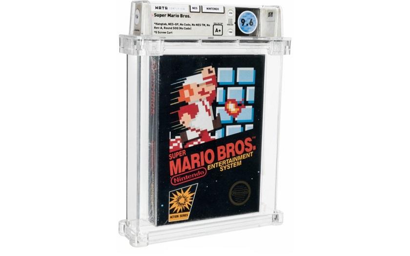 Запечатанную копию Super Mario Bros. продали на аукционе за 660 000 долларов