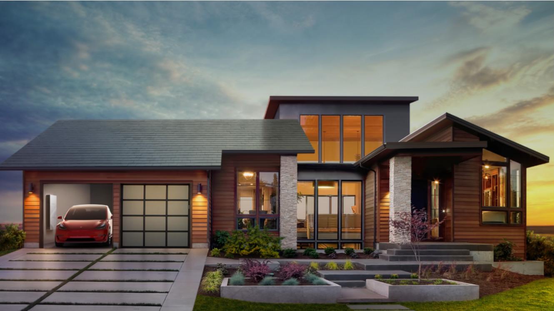 Пришествие солнечных электрокрыш Tesla: они будут работать вечно