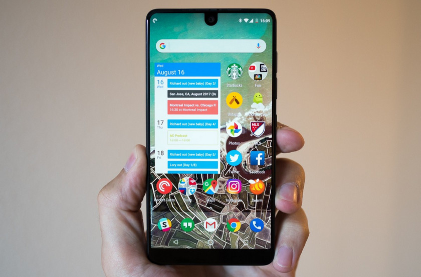 Essential Phone does not take off: since August only 50 000 smartphones have been sold