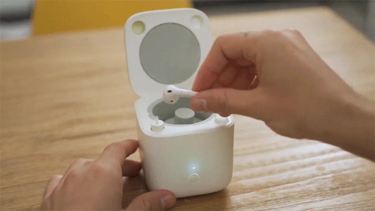 На Kickstarter продают миниатюрную стиральную машину Cardlax для TWS-наушников