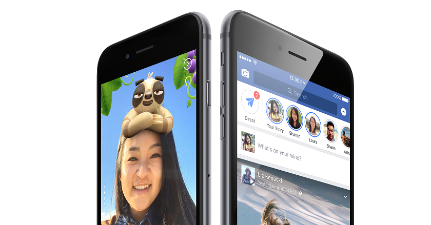 "Facebook added in the ""history"" of voice messages, a cloud for storing photos and an archive"