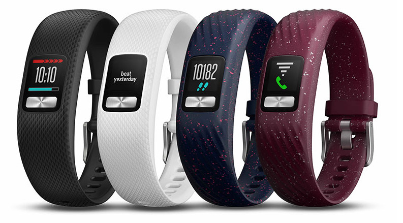 Fitness bracelet Garmin Vivofit 4: color screen and a year without recharging
