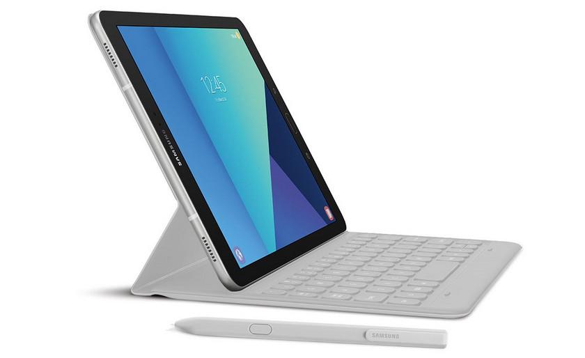 Планшет Samsung Galaxy Tab S4 с чехлом-клавиатурой замечен в сети