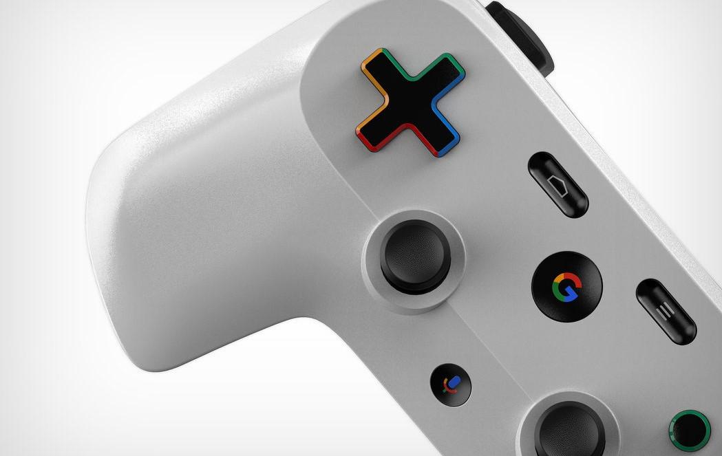 Патент Google показывает возможный дизайн игрового контроллера ее потоковог ...