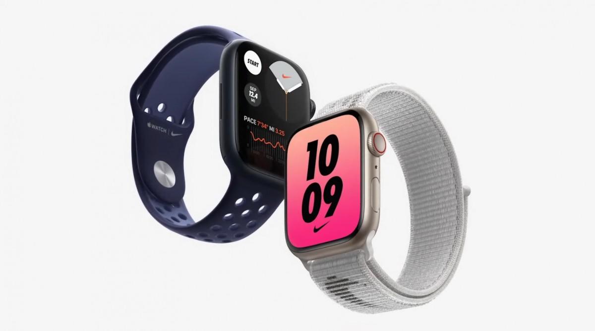 Apple Watch Series 7  большой дисплей, быстрая зарядка и новые функции по цене от $399