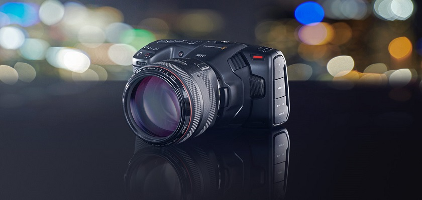 Blackmagic представила Pocket Cinema Camera 6K