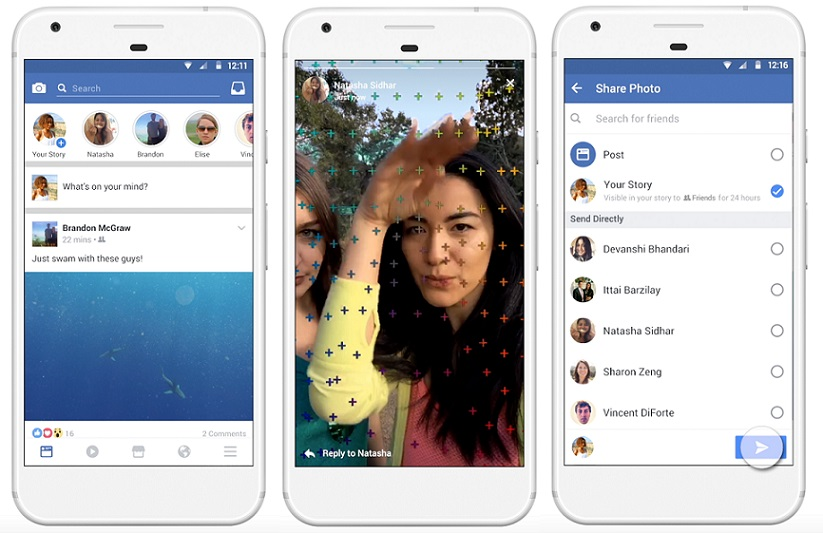 Facebook stories now have a photo editor