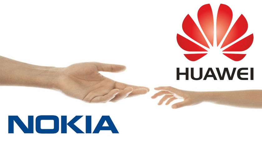 Nokia and Huawei have entered into a patent agreement